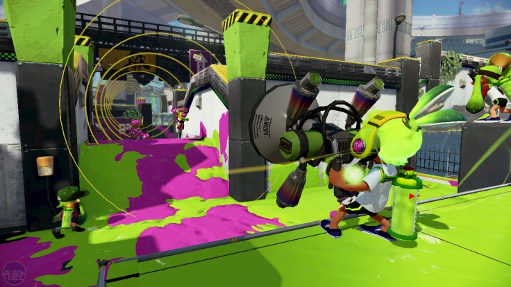 Splatoon Stage