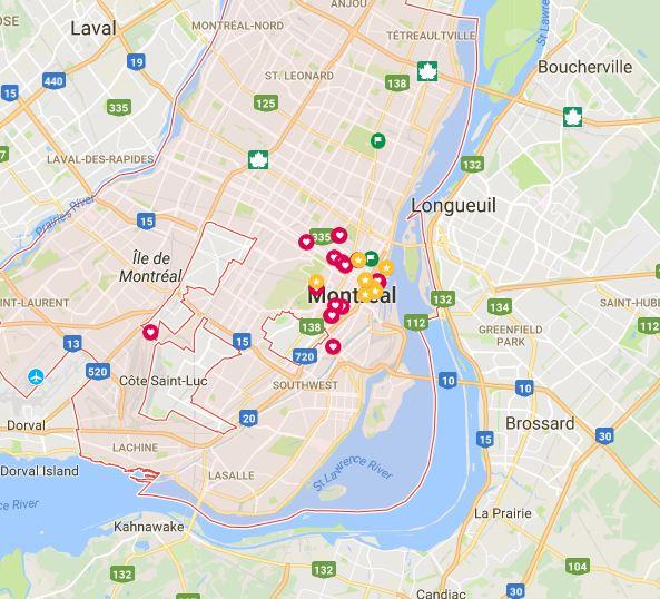montreal bridges