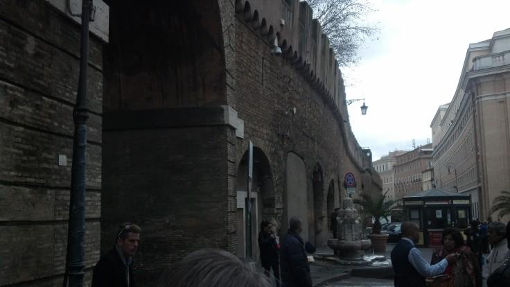 outside vatican