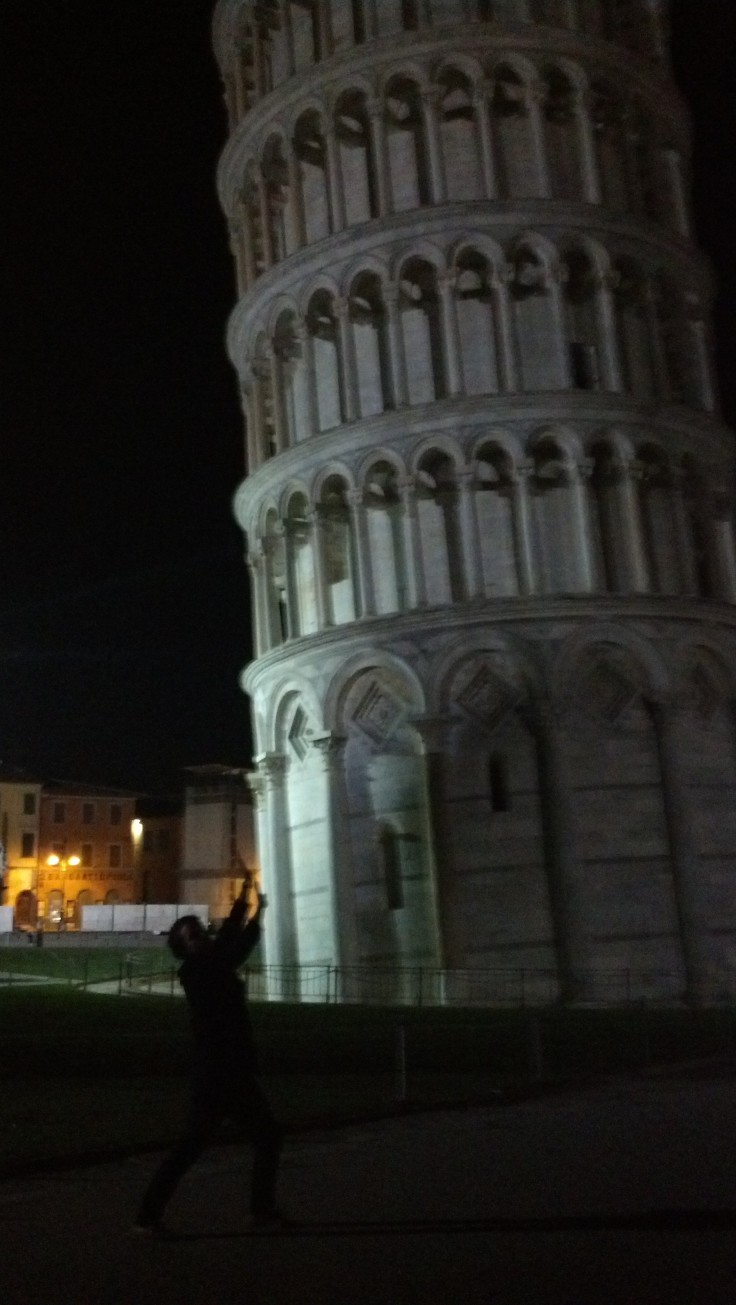 The Worst Ever Picture from the Leaning Tower of Pisa